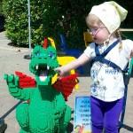 Four cousins go to Legoland
