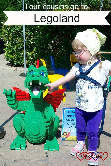 Four cousins go to Legoland - Little Hearts, Big Love
