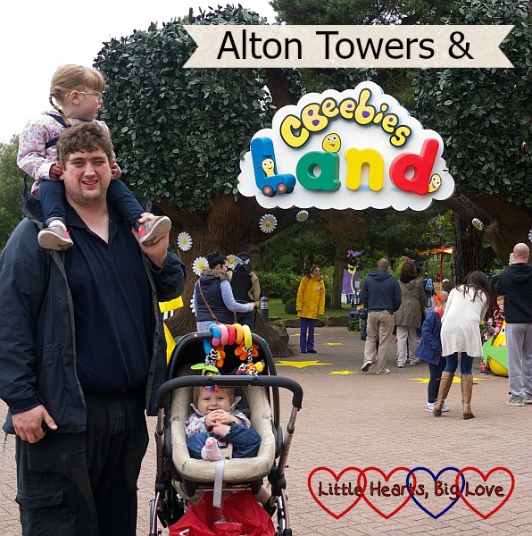 Alton Towers and CBeebies Land - Little Hearts, Big Love