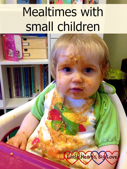 Mealtimes with small children - Little Hearts, Big Love