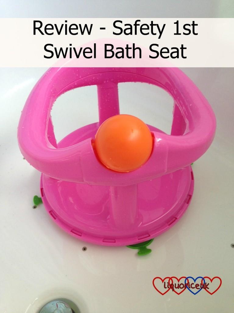 review safety 1st swivel bath seat little hearts big love. Black Bedroom Furniture Sets. Home Design Ideas