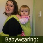 Babywearing – my journey