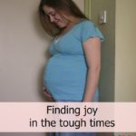 Finding joy in the tough times