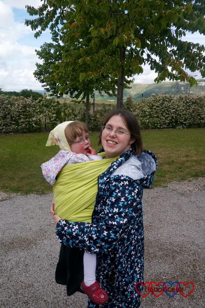 Babywearing: my journey - Little Hearts, Big Love