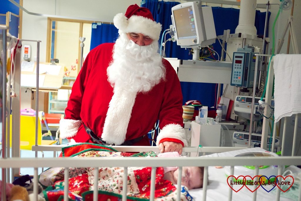 The day I flashed Santa