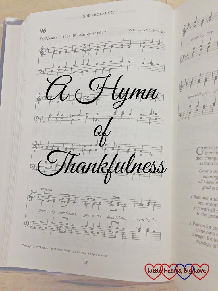 hymn of thankfulness
