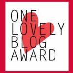 The One Lovely Blog Award/Christmas Tag