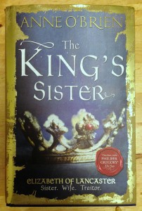 Review: The King's Sister - Anne O'Brien - Little Hearts, Big Love