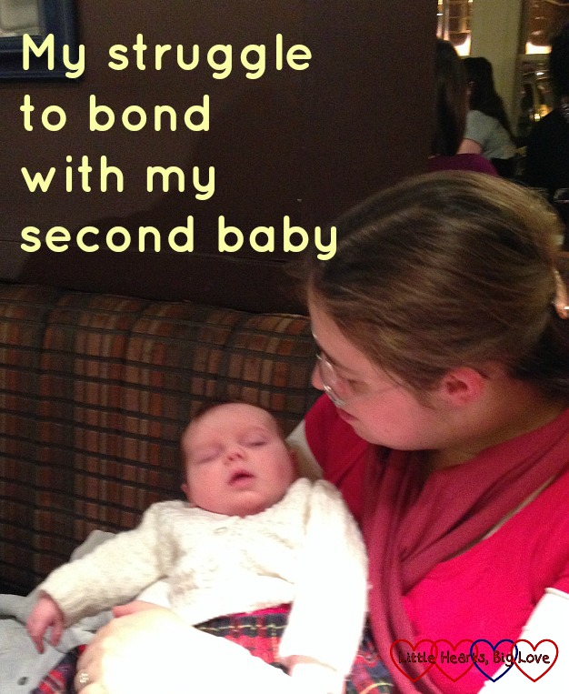 My struggle to bond with my second baby - Little Hearts, Big Love