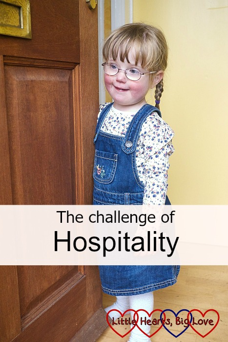 The challenge of hospitality - Little Hearts, Big Love