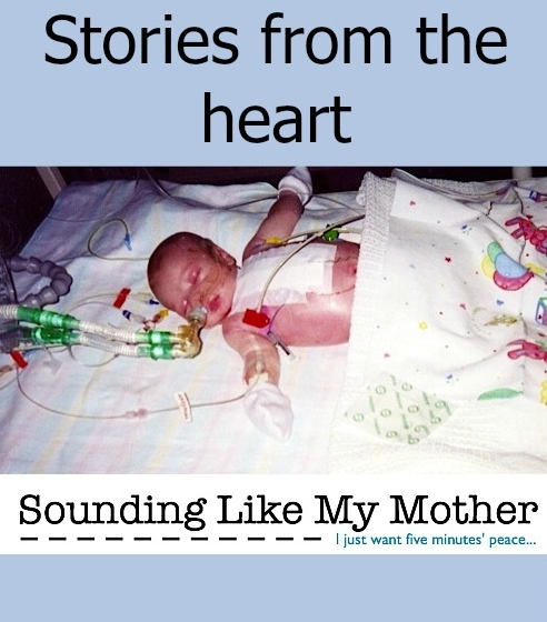 Stories from the heart: Sounding Like My Mother - Little Hearts, Big Love