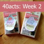 40acts: Week 2