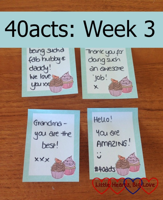 40acts: Week 3 - Little Hearts, Big Love
