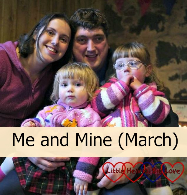 Me and Mine (March) - Little Hearts, Big Love