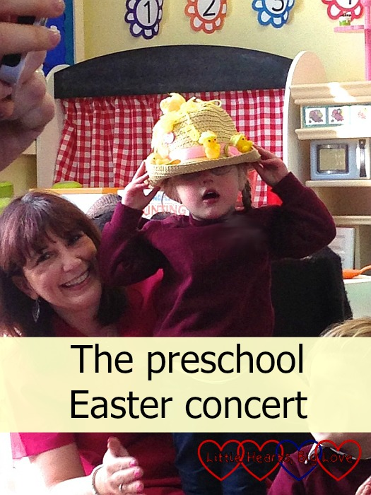 The preschool Easter concert - Little Hearts, Big Love