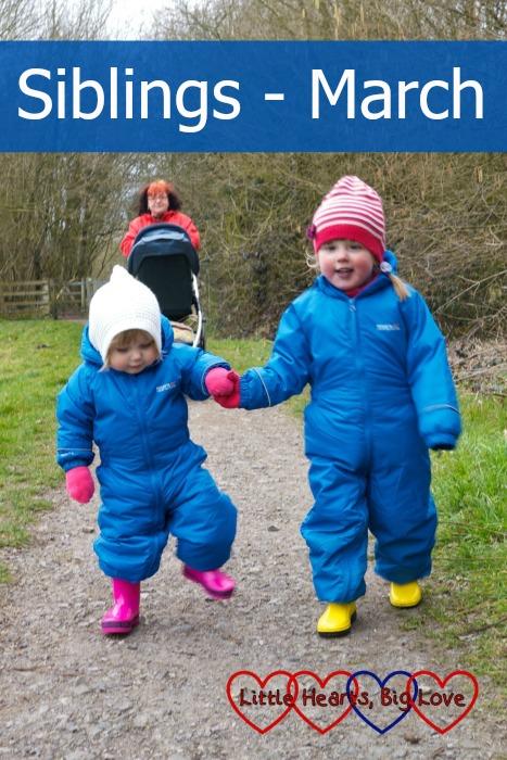 Siblings : March - Little Hearts, Big Love
