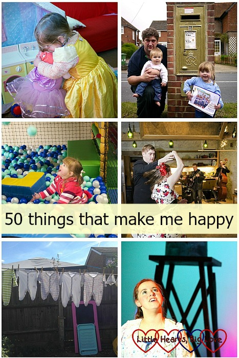 50 things that make me happy - Little Hearts, Big Love