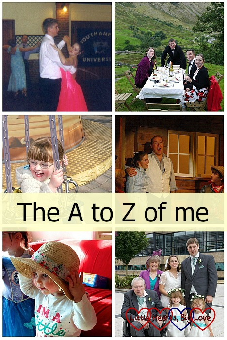 The A to Z of me - Little Hearts, Big Love