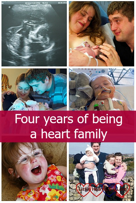 Four years of being a heart family - Little Hearts, Big Love