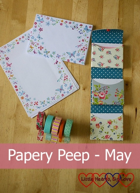 Papery Peep (May) - this month's papery purchases - Little Hearts, Big Love