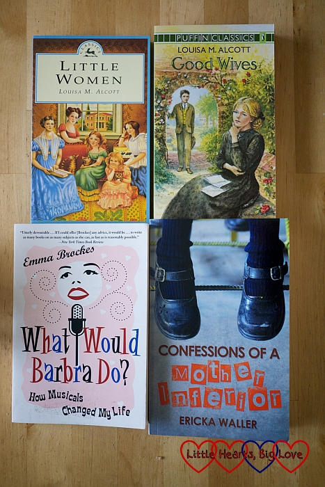 Papery Peep (May) - what I'm reading this month - Little Hearts, Big Love