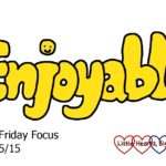 The Friday Focus 15/05/15