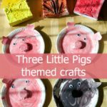 Three Little Pigs themed crafts