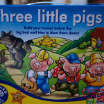 Review: The Three Little Pigs board game
