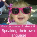 From the mouths of babes #29