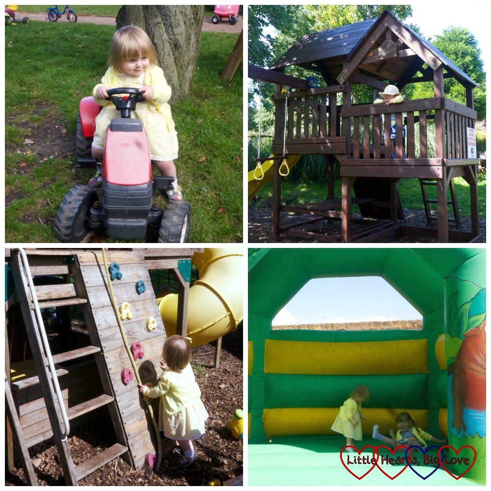 Children's play areat at Langleybury Children's Farm - Little Hearts, Big Love