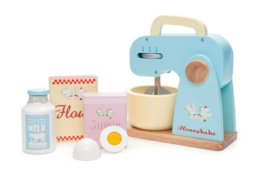 Le Toy Van Honeybake Mixer Set - 5 birthday present ideas from Oldrids & Downtown for toddlers and preschoolers - Little Hearts, Big Love