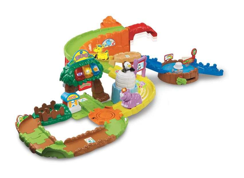 VTech Toot Toot Animals Safari Park - 5 birthday present ideas from Oldrids & Downtown for toddlers and preschoolers - Little Hearts, Big Love