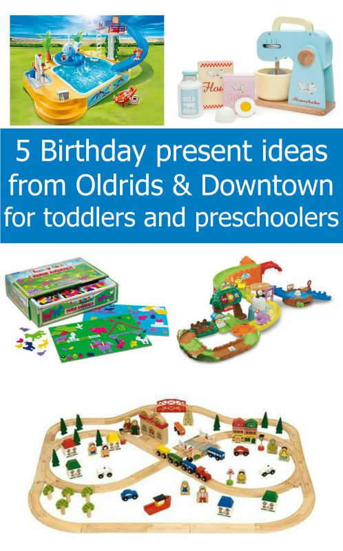 5 birthday present ideas from Oldrids & Downtown for toddlers and preschoolers - Little Hearts, Big Love