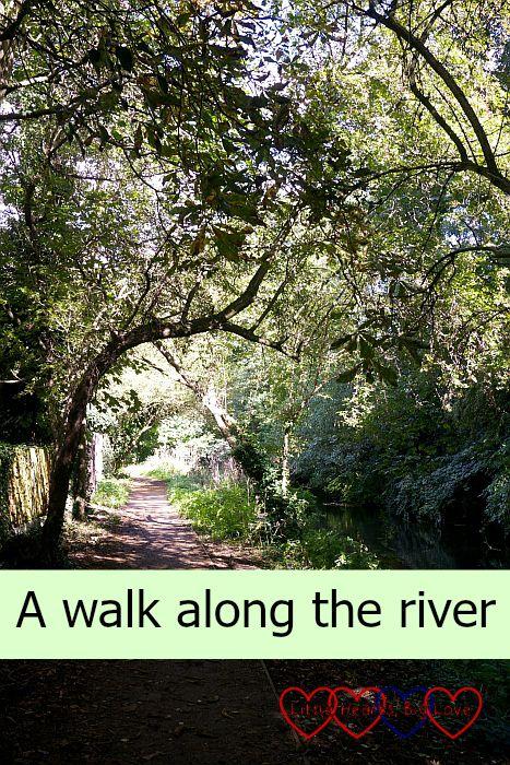 A walk along the river - Little Hearts, Big Love