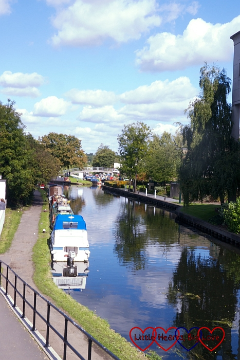 The view looking over the canal - A walk along the river - Little Hearts, Big Love
