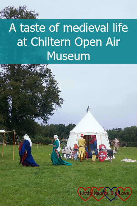 A taste of medieval life at Chiltern Open Air Museum - Little Hearts, Big Love