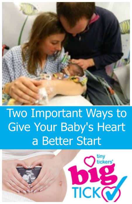 Two Important Ways to Give Your Baby's Heart a Better Start - a guest post from Aimee Foster - Little Hearts, Big Love