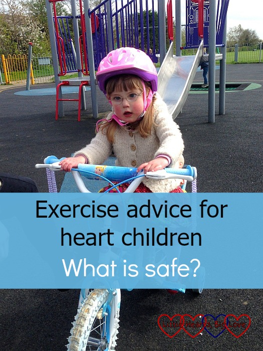 Exercise advice for heart children - what is safe? - Little Hearts, Big Love
