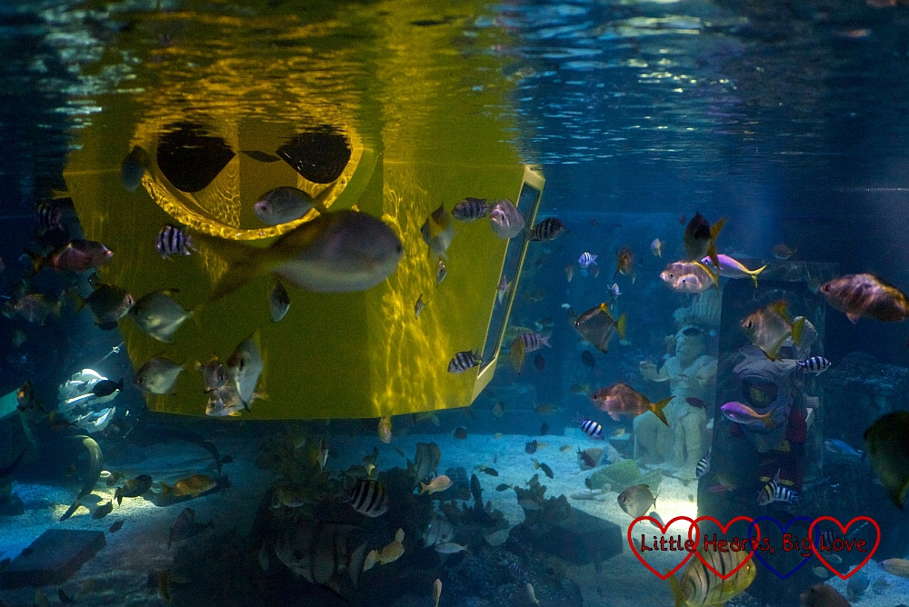 Atlantis Submarine Voyage - Legoland: the best bits (from my preschooler's perspective) - Little Hearts, Big Love