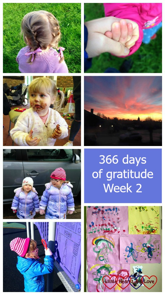 #366daysofgratitude - Week 2 - Little Hearts, Big Love