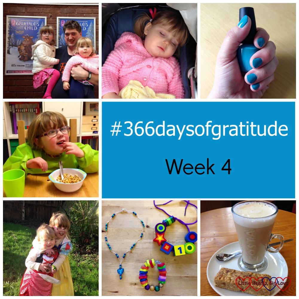 #366daysofgratitude - Week 4 - Little Hearts, Big Love