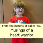 From the mouths of babes #57