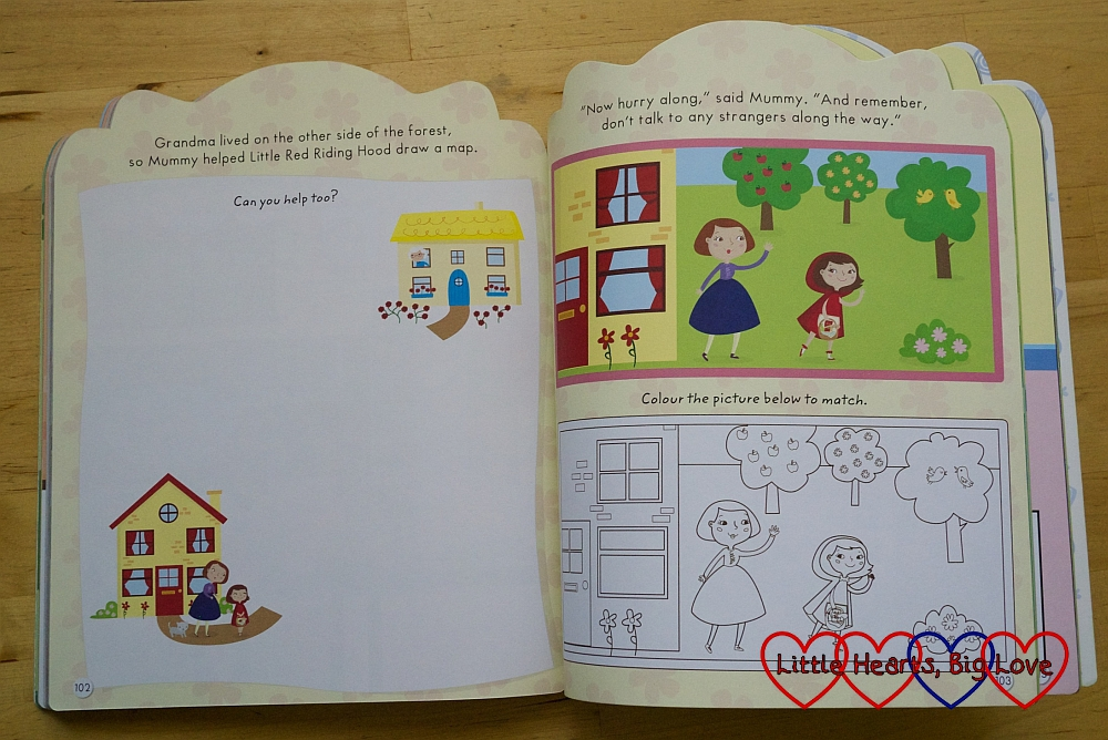 Review - My Giant Fairy Tale Activity Book - Little Hearts, Big Love