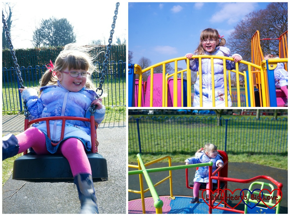 Fun in the playground - A walk along the canal - Little Hearts, Big Love