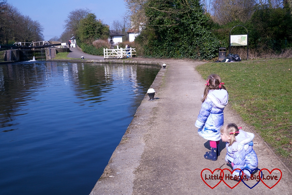 A walk along the canal - Little Hearts, Big Love