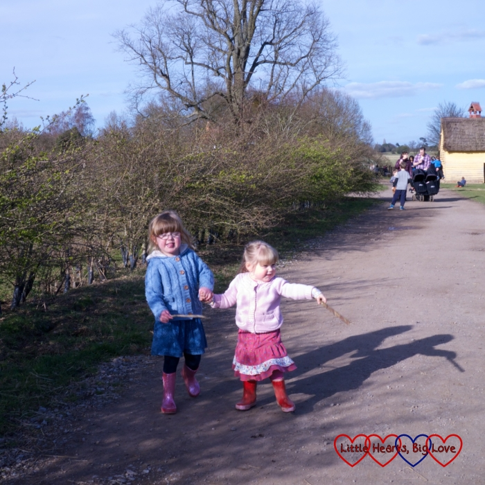Easter fun at Chiltern Open Air Museum - Little Hearts, Big Love