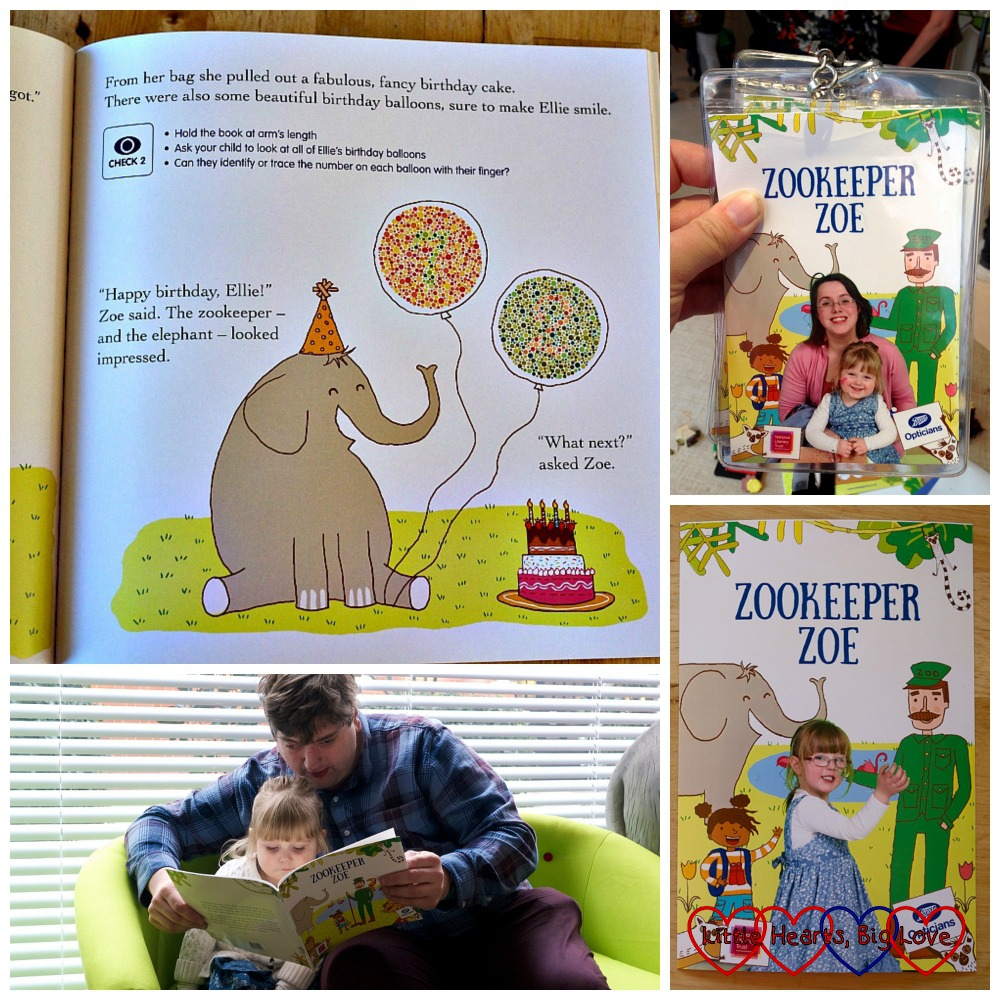 Zookeeper Zoe – a clever eye check storybook from Boots Opticians - Little Hearts, Big Love