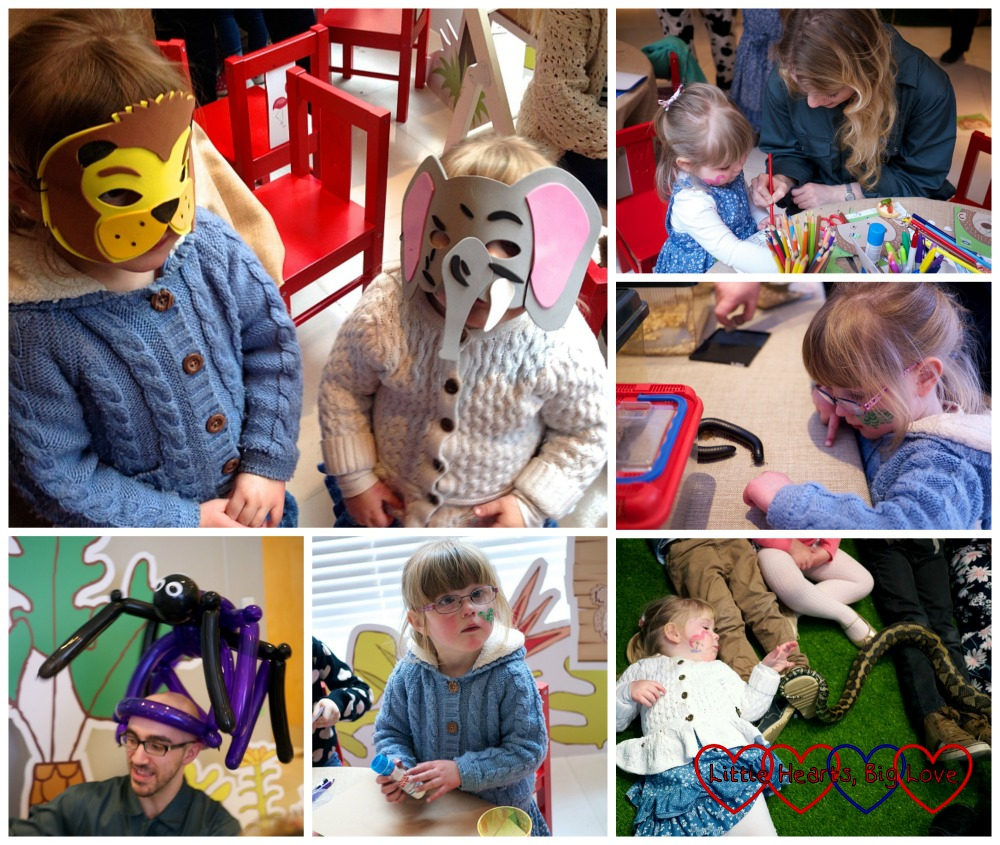 Fun at the Zookeeper Zoe launch party - Zookeeper Zoe – a clever eye check storybook from Boots Opticians - Little Hearts, Big Love