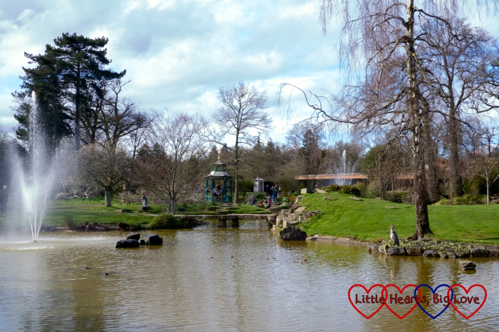 The Water Garden - Hunting for Easter eggs at Cliveden - Little Hearts, Big Love