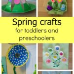 Spring crafts for toddlers and preschoolers
